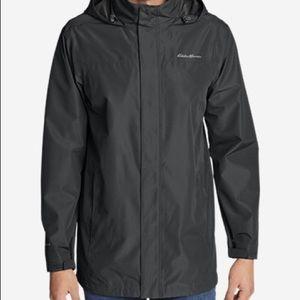 Eddie Bauer Mens Rainfoil Jacket Size Small
